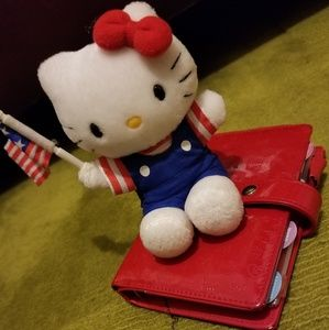 HELLO KITTY Mini Planner and Plush